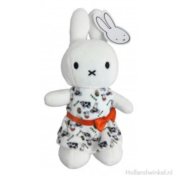 Miffy in a Dutch dress