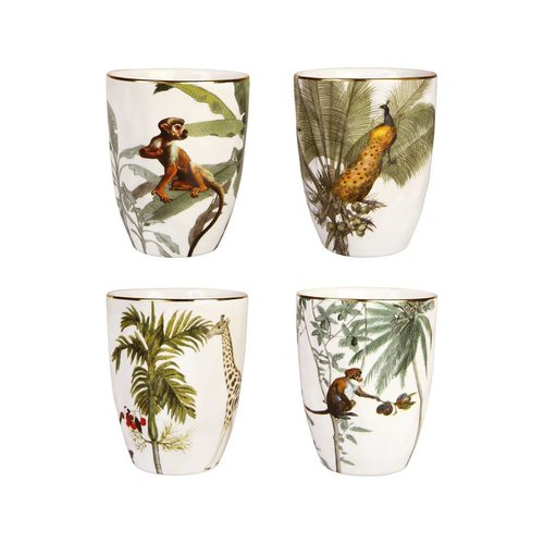 Ensemble de tasse de jungle