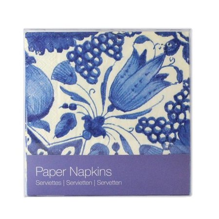 """Delft blue"" napkins"