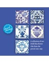 Dossier avec cartes Delft bleu