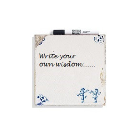 Write your own wisdom tile