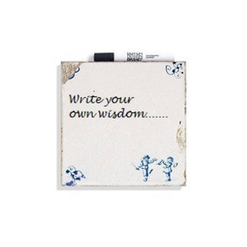 Write your own wisdom tile