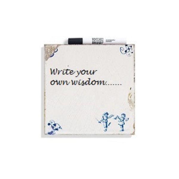 Schreibe deine eigene Weisheitsfliese