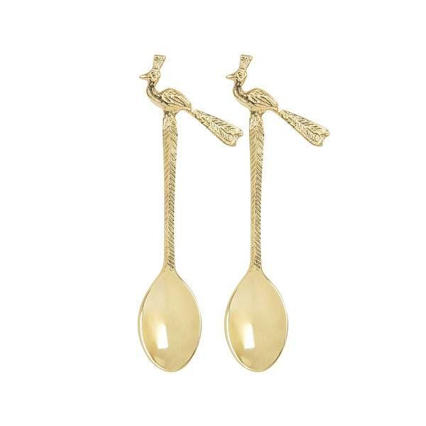 Ostrich teaspoons