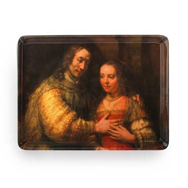 Tray with the Jewish bride of Rembrandt