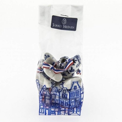 Bag of clogs 10 pieces