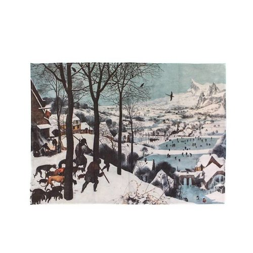 Poster Des chasseurs dans la neige de Bruegel