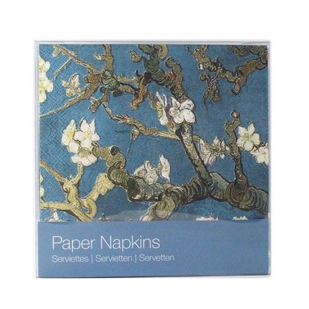 "van Gogh ""Almond blossom"" napkins"