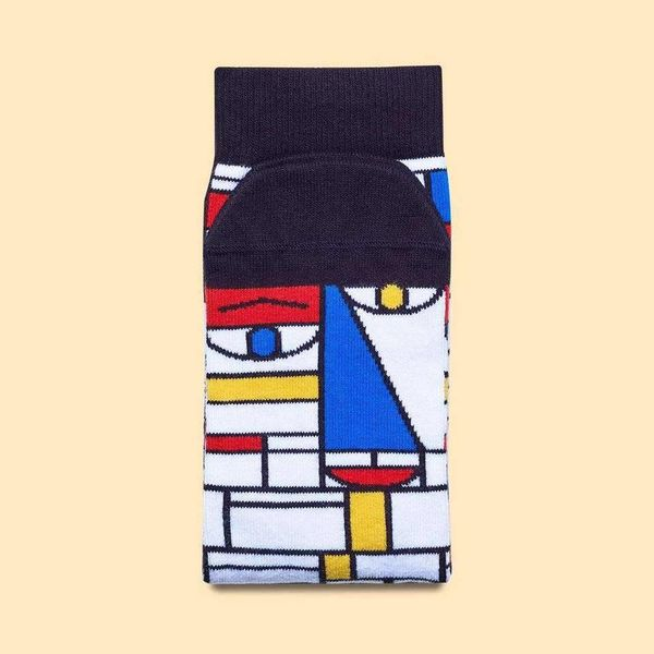 Mondriaan chatty socks
