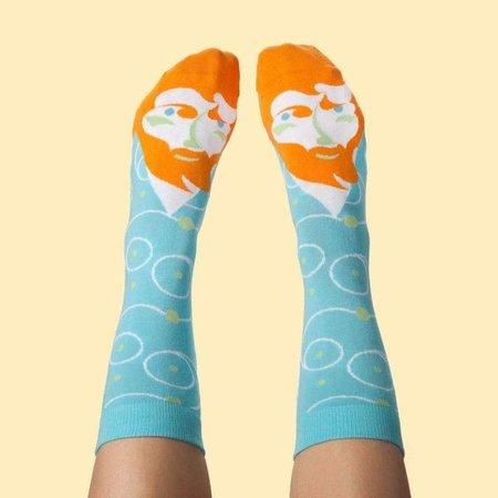 chaussettes bavardes van Gogh