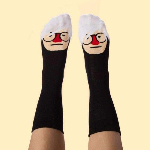 Andy Sock Hole gesprächige Socken