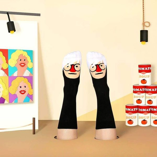 Andy Warhol chatty socks