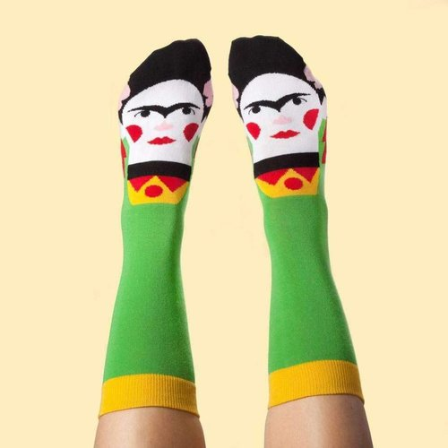 Frida Kahlo chatty socks