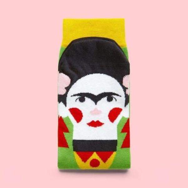 Frida Khalo gesprächige Socken