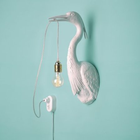 La lampe hollandaise volante blanche