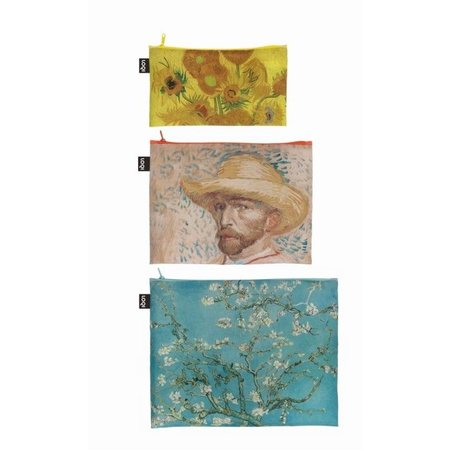 3 zip pockets van Gogh