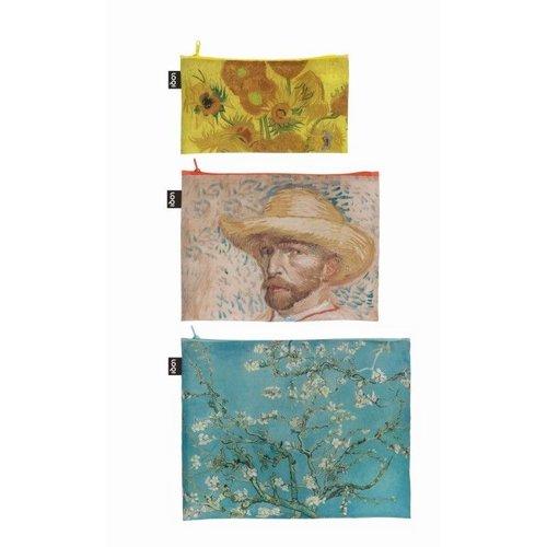 3 Reißverschlusstaschen von Gogh