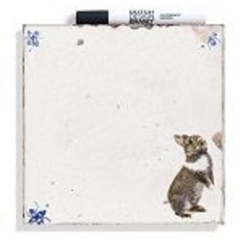 Schreibe einen eigenen Weisheitsfliesen-Hasen