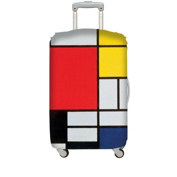 """Kofferüberzug """"Mondriaan"""""""