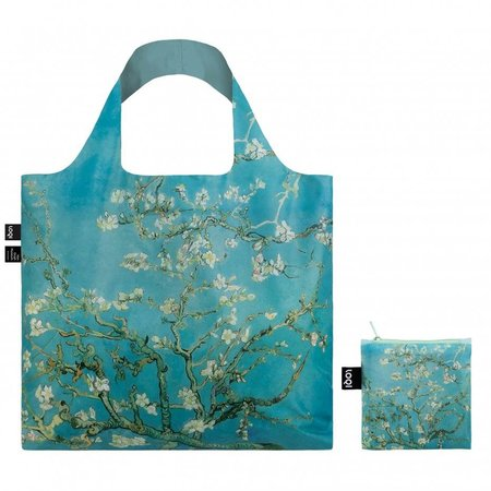 Folding bag with the almond blossoms of Van Gogh