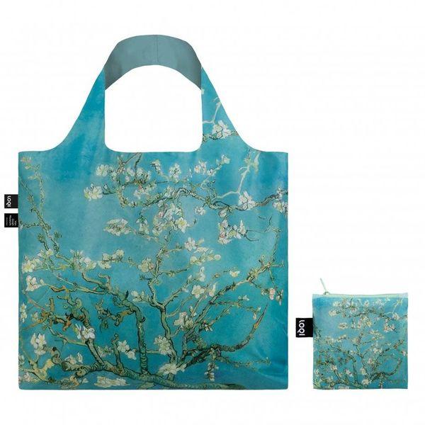 Sac pliant avec les fleurs d'amandier de Van Gogh