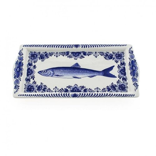 Herring bowl Delft blue