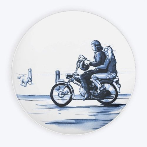 Puch plate Delft blue