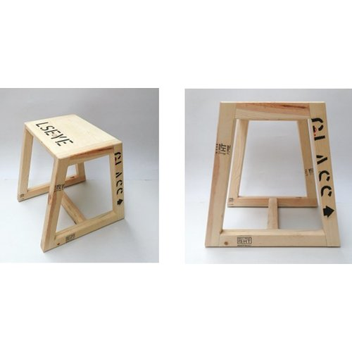 Stool from museum box