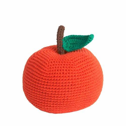 Apfel von Orange