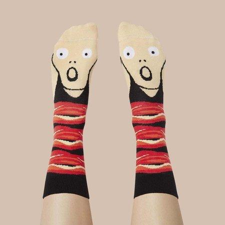Screamy Ed Socken von ChattyFeet
