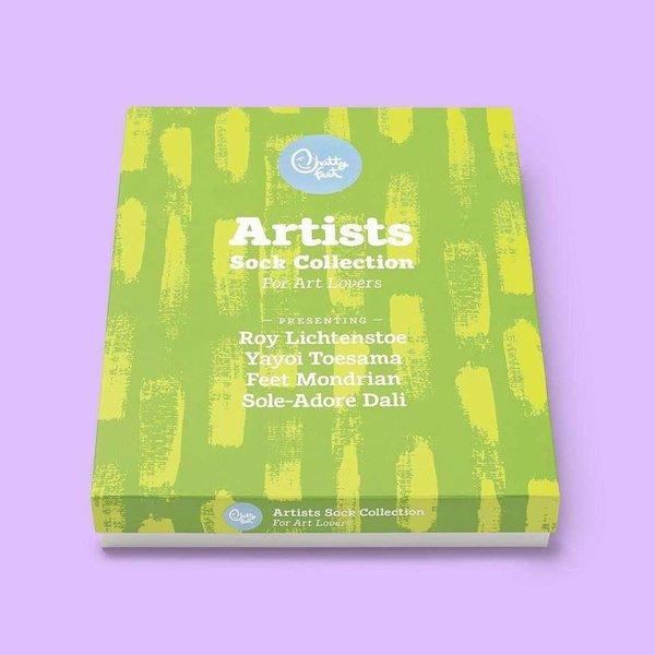 4 modern artists socks gift box