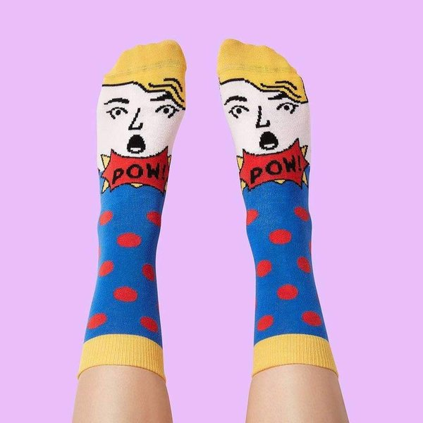 Modern artist socks gift box from Chatty Feet