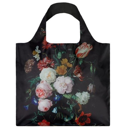 """Folding bag """"Still life with flowers"""""""