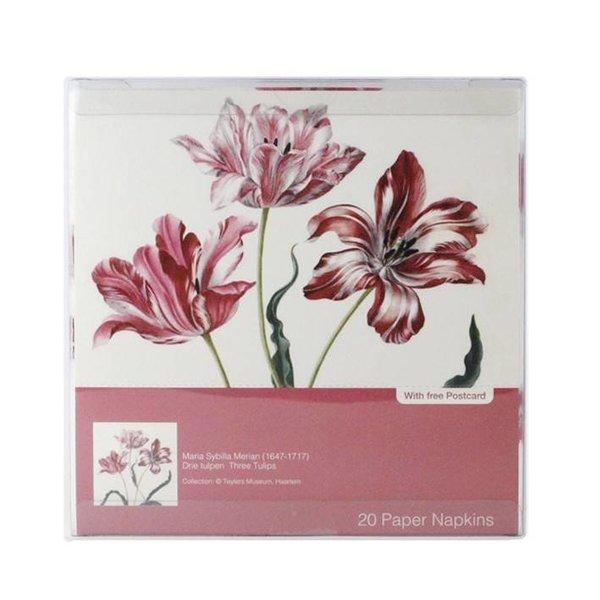 """Serviettes """"Trois Tulipes"""""""