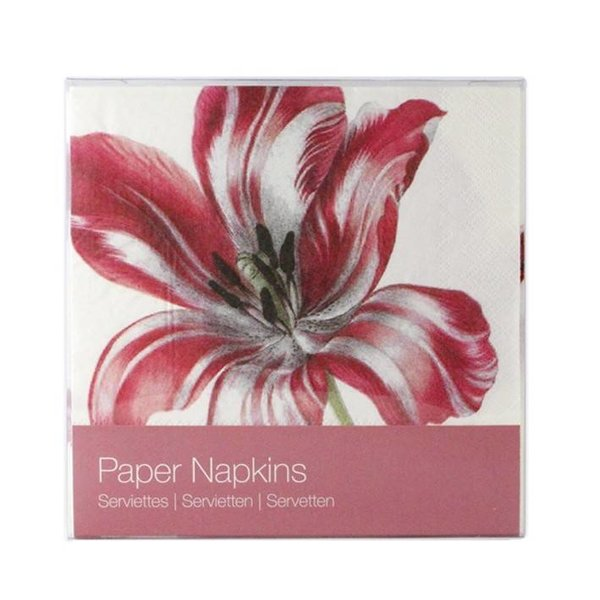 """Three Tulips"" napkins"