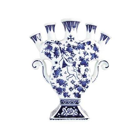 "Vase Tulipe ""Chérubins"""