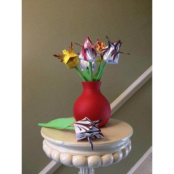 Faltbare Tulpen