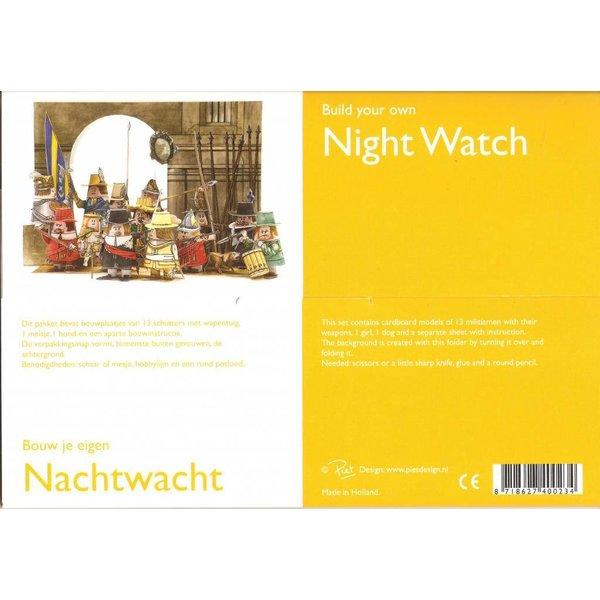 Bouwplaat - Nachtwacht