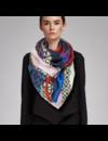 Mondrian scarf XL 100% silk