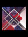 Echarpe Mondrian XL 100% soie
