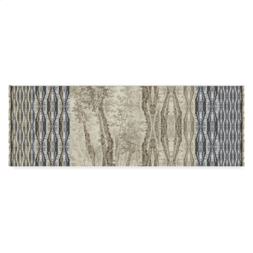 "Foulard ""arbres hollandais"""