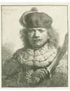 Set van 4 Rembrandt replica's