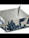Folding vase Delft blue tulips