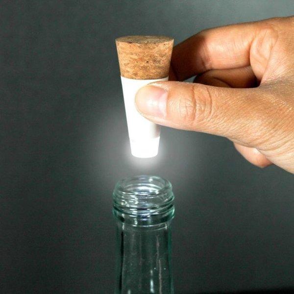 Oplaadbaar fles lampje