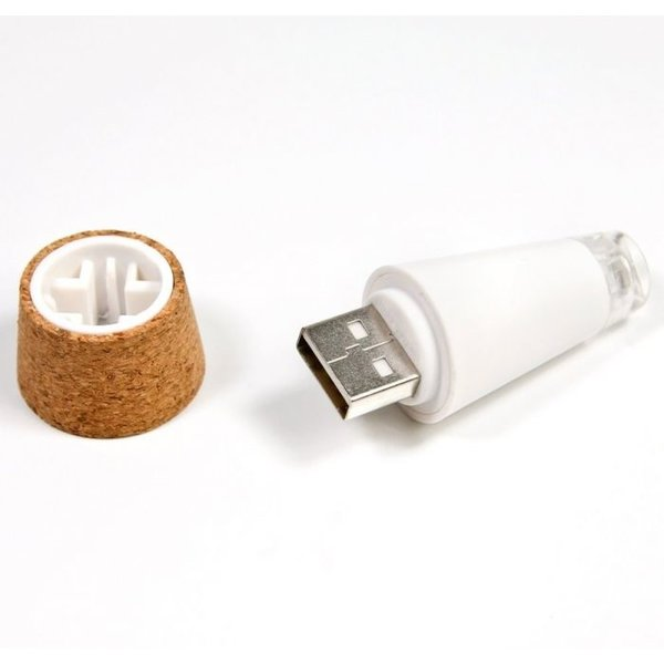 Lampe à bouteille rechargeable