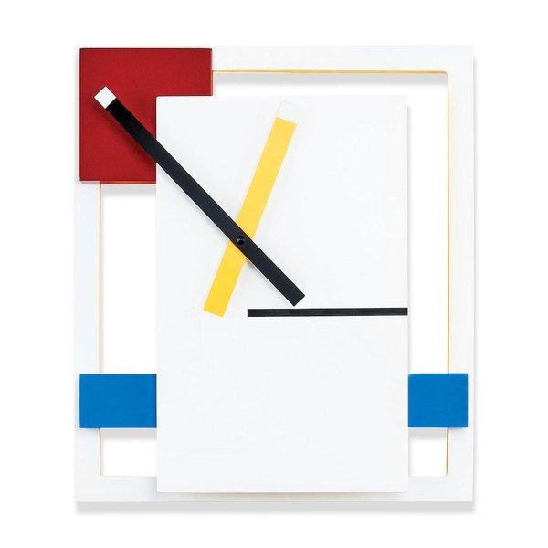 De Stijl clock