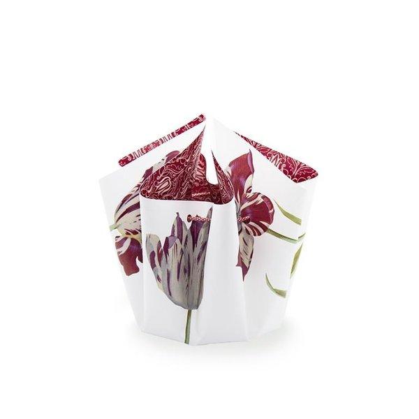 Bogenvase Tulpen