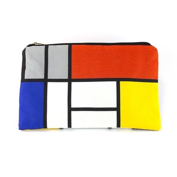 Schminktasche Mondrian