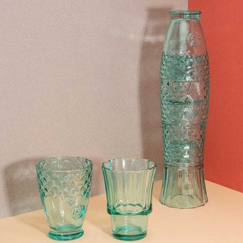 "Stacking set of glasses ""Fish"""
