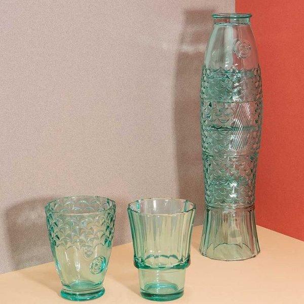 """Ensemble de verres empilables """"Poisson"""""""